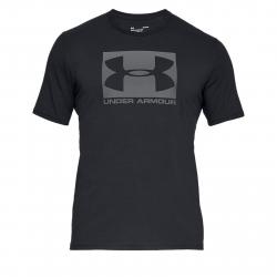 Pánske tréningové tričko s krátkym rukáv UNDER ARMOUR-UA BOXED SPORTSTYLE SS-BLK