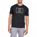 Pánske tréningové tričko s krátkym rukáv UNDER ARMOUR-UA BOXED SPORTSTYLE SS-BLK -