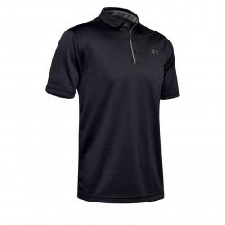 Pánske tréningové polo tričko s krátkym UNDER ARMOUR-Tech Polo-BLK