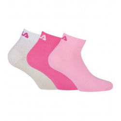 Dámske ponožky FILA-F9300 SOCKS 3-PACK 806-White