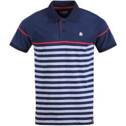 Pánske polo tričko s krátkym rukávom FUNDANGO-Helsem-eclipse blue