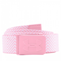 Dámsky opasok UNDER ARMOUR-WOMENS PRINTED GOLF BELT Pink