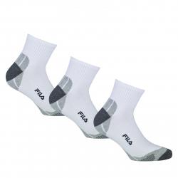 Ponožky FILA-F1615 SOCKS 3-PACK 300-White