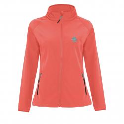 Dámska turistická softshellová bunda BERG OUTDOOR-CORONA pink