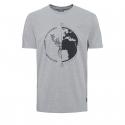Pánske turistické tričko s krátkym rukávom BERG OUTDOOR-DRACO grey -