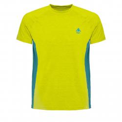 Pánske turistické tričko s krátkym rukávom BERG OUTDOOR-GRUS green