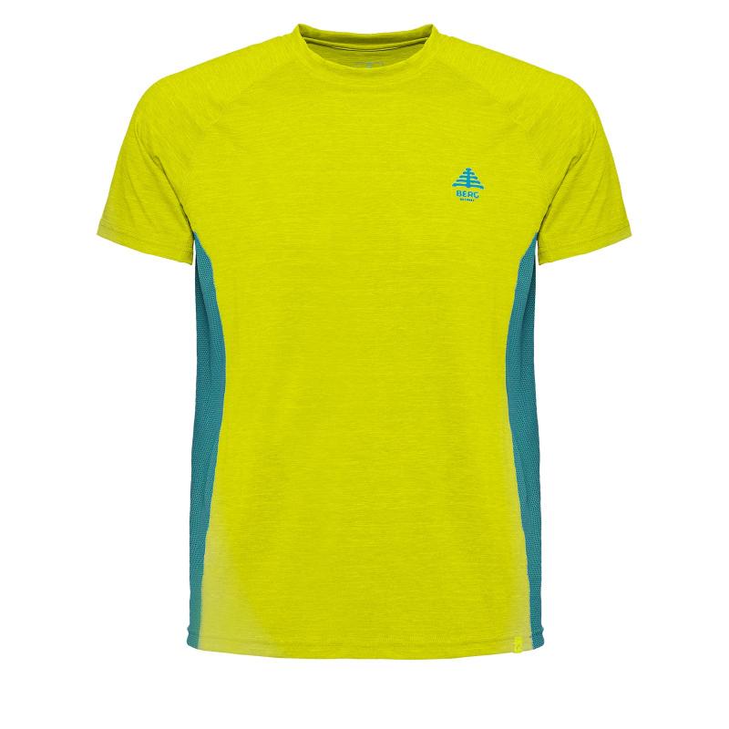 Pánske turistické tričko s krátkym rukávom BERG OUTDOOR-GRUS green -