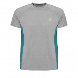 Pánske turistické tričko s krátkym rukávom BERG OUTDOOR-GRUS grey