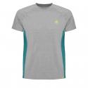 Pánske turistické tričko s krátkym rukávom BERG OUTDOOR-GRUS grey -
