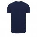 Pánske turistické tričko s krátkym rukáv BERG OUTDOOR-ALCATR navy -