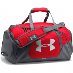 Cestovná taška UNDER ARMOUR-UA Undeniable Duffle 3.0 SM-RED