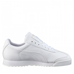 Juniorská rekreační obuv PUMA-Roma Basic Jr white / light gray