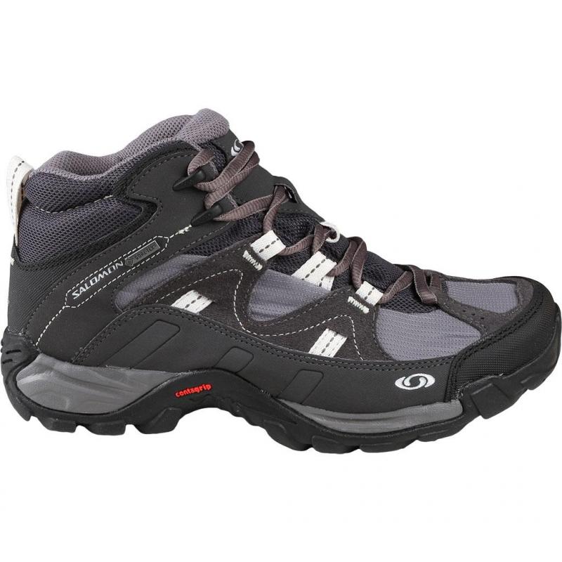 Dámska turistická obuv stredná SALOMON-Manila Mid GTX - afdd67d8d5