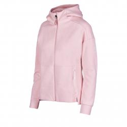 Dámska tréningová mikina s celým zipsom ANTA-Knit Track Top-2-q119-WOMEN-Pink