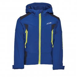 Chlapčenská turistická softshellová bunda AUTHORITY KIDS-MARTENSO B blue