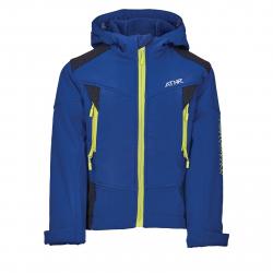 Chlapčenská turistická softshellová bunda AUTHORITY-MARTENSO B blue