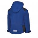 Chlapčenská turistická softshellová bund AUTHORITY-MARTENSO B blue -