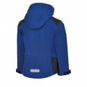Chlapčenská turistická softshellová bunda AUTHORITY-MARTENSO B blue -