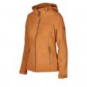 Dámska turistická softshellová bunda AUTHORITY-MARTESA yellow -
