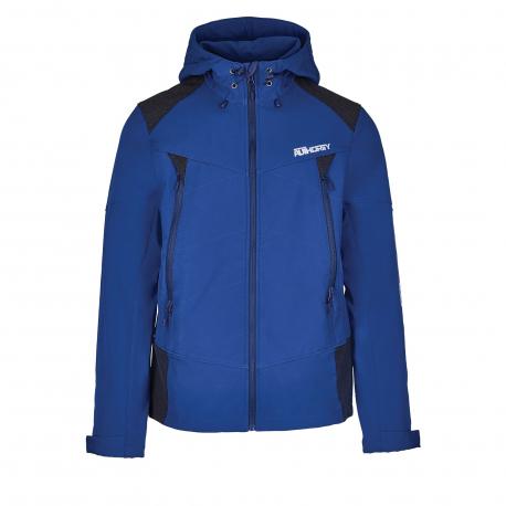 Pánska turistická softshellová bunda AUTHORITY-MARTENSO blue