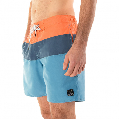 Pánske plavky BRUNOTTI-Catamaran Mens Shorts stone blue
