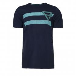 Pánske tričko s krátkym rukávom BRUNOTTI-Bart Mens T-shirt graphite blue