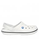 Kroksy (rekreačná obuv) CROCS-Crocband white -