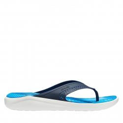 Žabky (plážová obuv) CROCS-LiteRide Flip navy/white