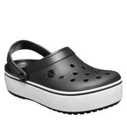 90d61cb753d6f Rekreační obuv CROCS-Crocband Platform Clog black / white