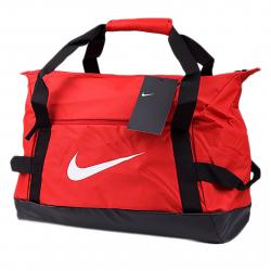 Cestovná taška NIKE-NK ACDMY TEAM S DUFF - UNIVERSITY RED/BLACK/(WHITE)