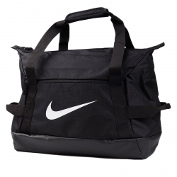 Cestovná taška NIKE-NK ACDMY TEAM S DUFF - BLACK/BLACK/(WHITE)