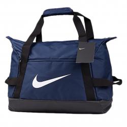 Cestovná taška NIKE-NK ACDMY TEAM S DUFF - MIDNIGHT NAVY/BLACK/(WHITE)