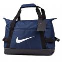 Cestovná taška NIKE-NK ACDMY TEAM S DUFF - MIDNIGHT NAVY/BLACK/(WHITE) -