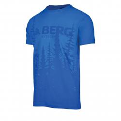 Pánske turistické tričko s krátkym rukáv BERG OUTDOOR-GAVIAO SM snorkel blue