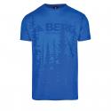 Pánske turistické tričko s krátkym rukávom BERG OUTDOOR-GAVIAO SM snorkel blue -
