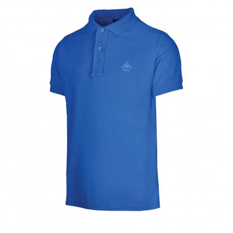 Pánske polo tričko s krátkym rukávom BERG OUTDOOR-POLO blue