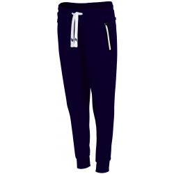 Dámske teplákové nohavice 4F-WOMENS TROUSERS SPDD002-30S-Blue dark