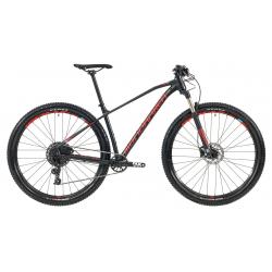 Horský bicykel MONDRAKER-CHRONO 29, black/ light blue/flame red, 2019