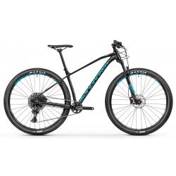Horský bicykel MONDRAKER-CHRONO R 29, black/flame red/light blue, 2019