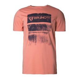 Pánske tričko s krátkym rukávom BRUNOTTI-Bart Mens T-shirt terra cotta