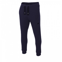 Pánske teplákové nohavice 4F-MENS TROUSERS SPMD002-30S-Blue dark