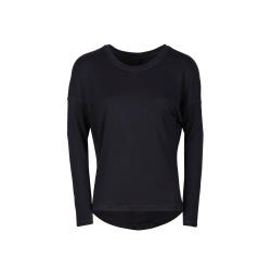 e0100e21e8b8 Dámske tréningové tričko s dlhým rukávom FUNDANGO-Moya-black