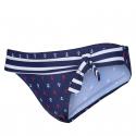 Dámske plavky spodný diel AUTHORITY-PLAXSY P dk blue -