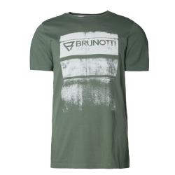 Pánske tričko s krátkym rukávom BRUNOTTI-Bart Mens T-shirt vintage green
