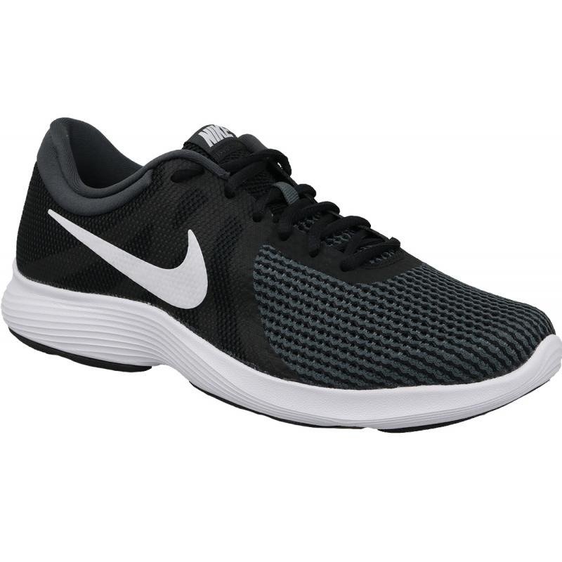 Pánska tréningová obuv NIKE-Revolution 4 EU black/white/anthracite -