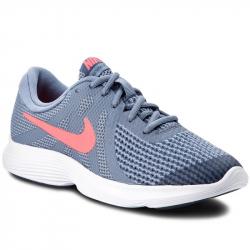 Juniorská športová obuv (tréningová) NIKE-Revolution 4 GS ashen slate/flash crimson
