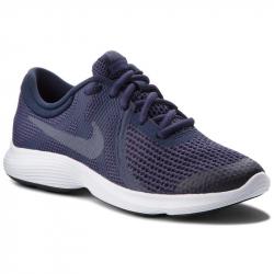 Juniorská tréningová obuv NIKE-Revolution 4 GS natural indigo/light carbon