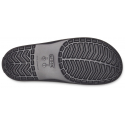 Šľapky CROCS-Crocband III Seasnl Graphc Sld Slate grey/black -