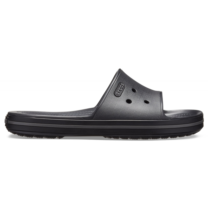 Obuv k bazénu (plážová obuv) CROCS-Crocband III Slide black/graphite -