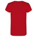 Dievčenské turistické tričko s krátkym r HANNAH-PONTELA JR-rouge red -